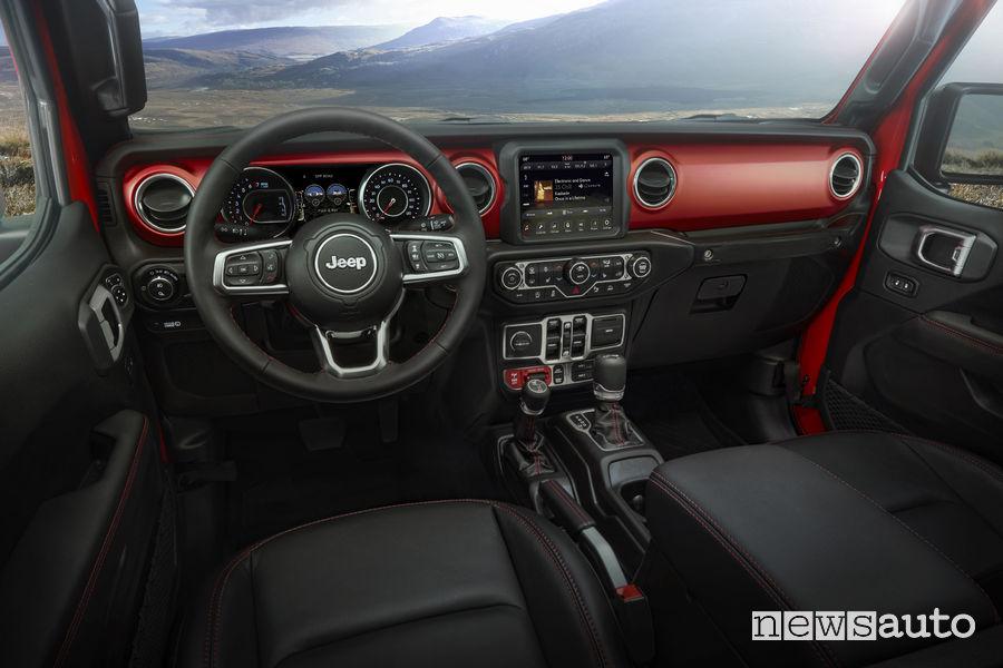 2020 Jeep Gladiator – abitacolo