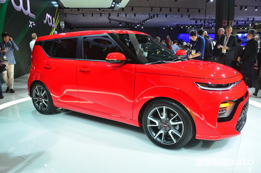 Kia_Soul 2019 al Salone di Los Angeles 2018