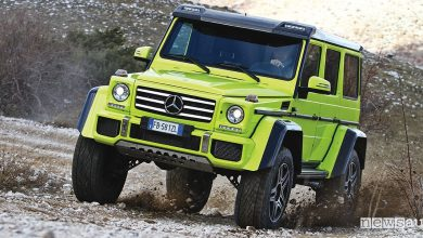 Photo of Mercedes G500 4X4², tecnica info e prova