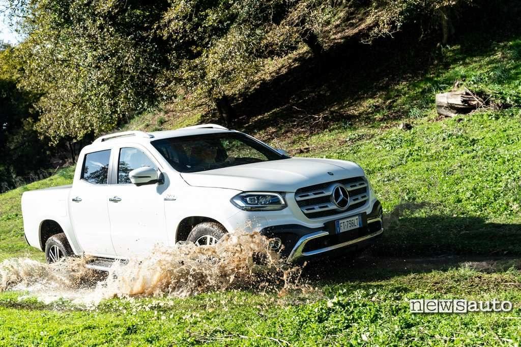 Il pickup della Mercedes il Classe X non verrà più venduto in europa