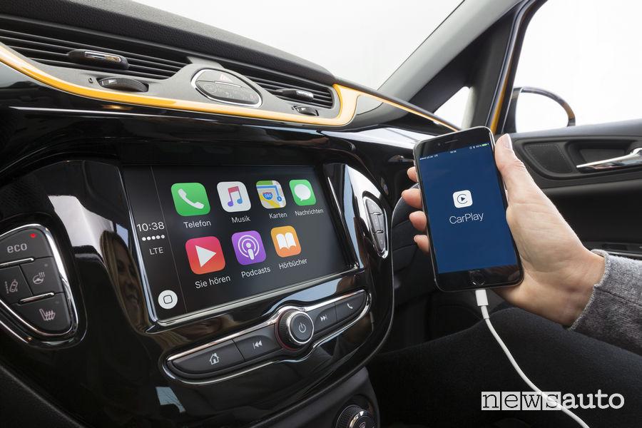 Apple Car Play su Opel Corsa