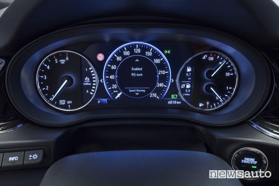 Opel Insignia quadro strumenti Multimedia Navi Pro