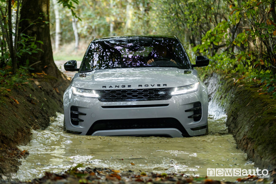 Range Rover_Evoque 2019, guado off road
