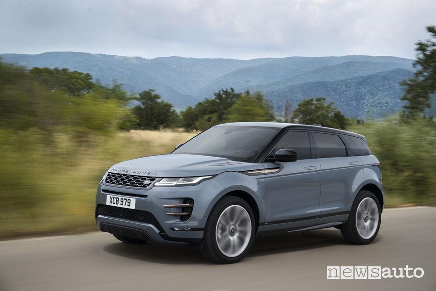 Range Rover_Evoque 2019, vista di profilo