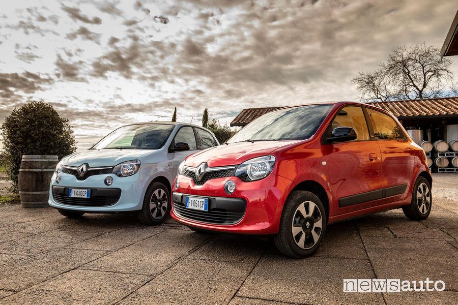 Renault_Twingo GPL 2019, vista di profilo