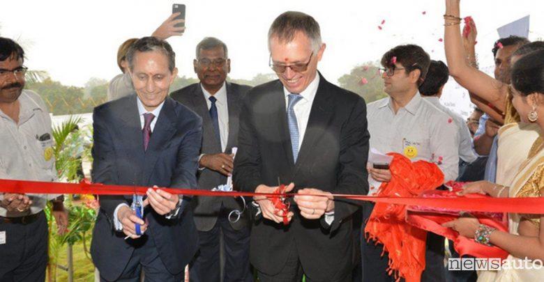 Groupe PSA inaugura una nuova fabbrica auto in India