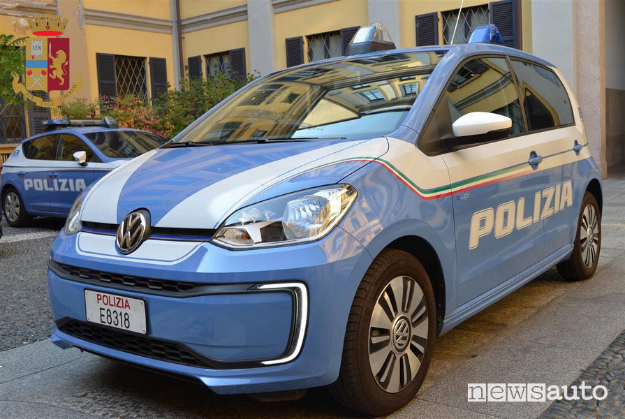 Volkswagen e-up! alla Polizia di Milano
