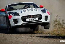 auto da rally Jaguar F-Type rally
