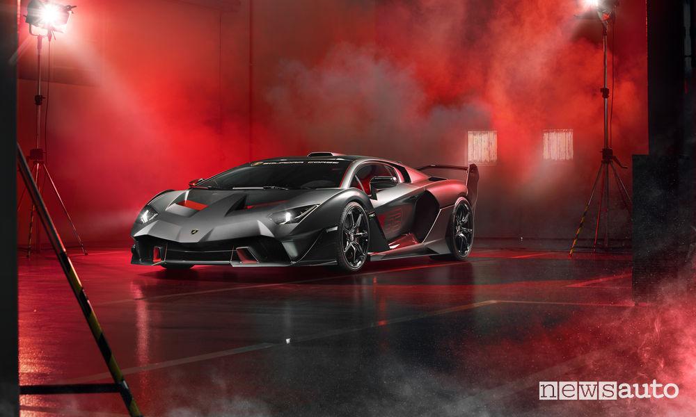 Lamborghini_SC18 Alston, vista di profilo