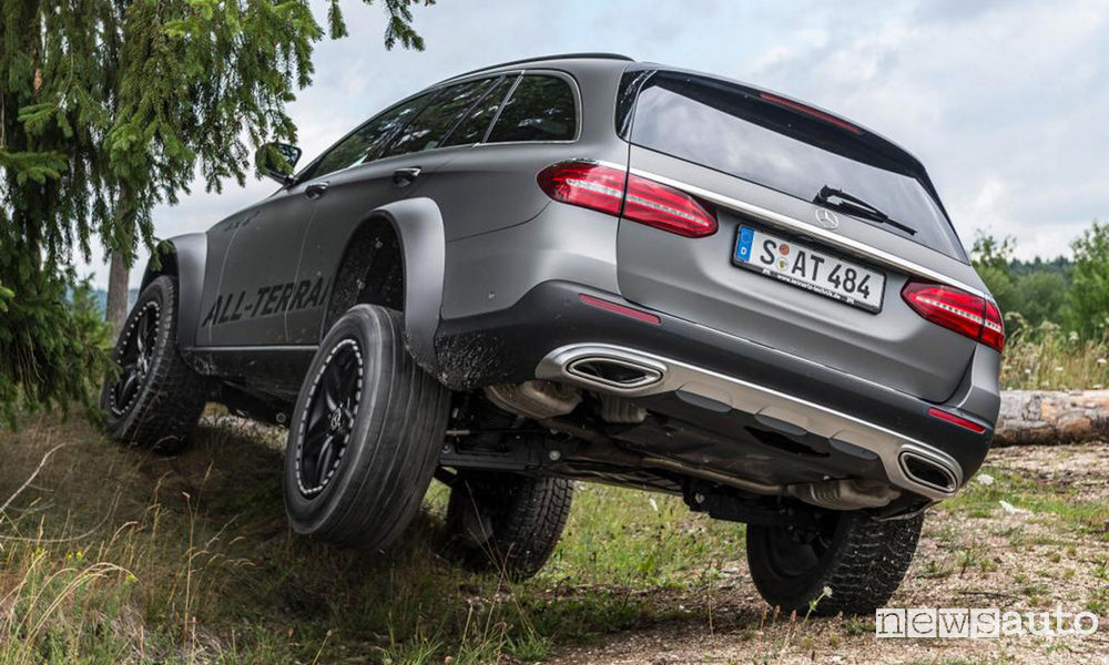 Off Road Mercedes-Benz Classe E All-Terrain 4x4²
