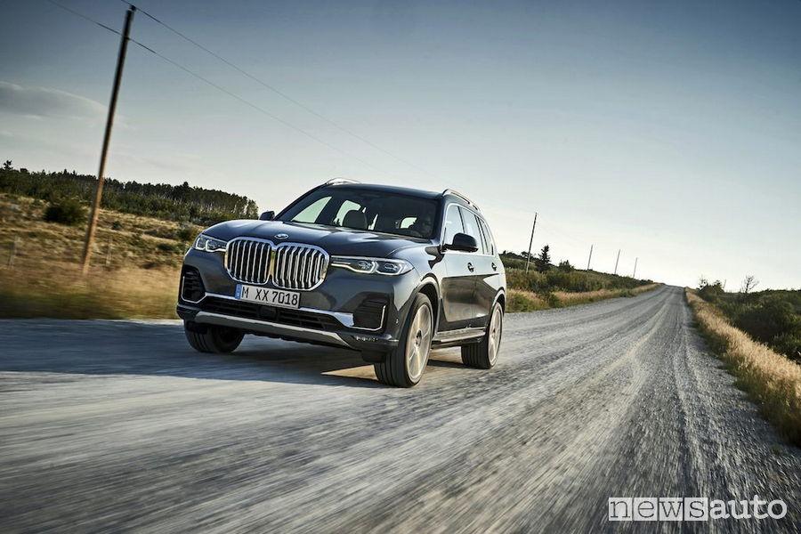 SUV ad alte prestazioni 2019 BMW X7