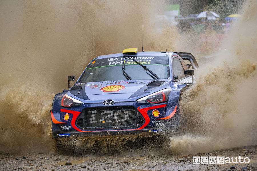 WRC Rally d'Australia 2018, Hyundai i20 (Mikkelsen)