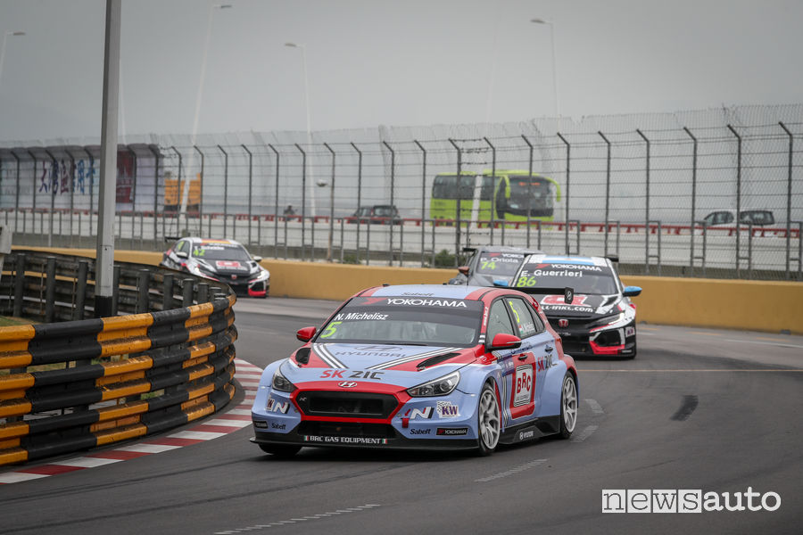 WTCR_2018 Macao Michelisz Hyundai i30 N TCR