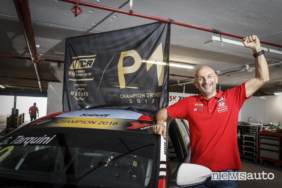 Gabriele Tarquini Campione WTCR_2018 con Hyundai