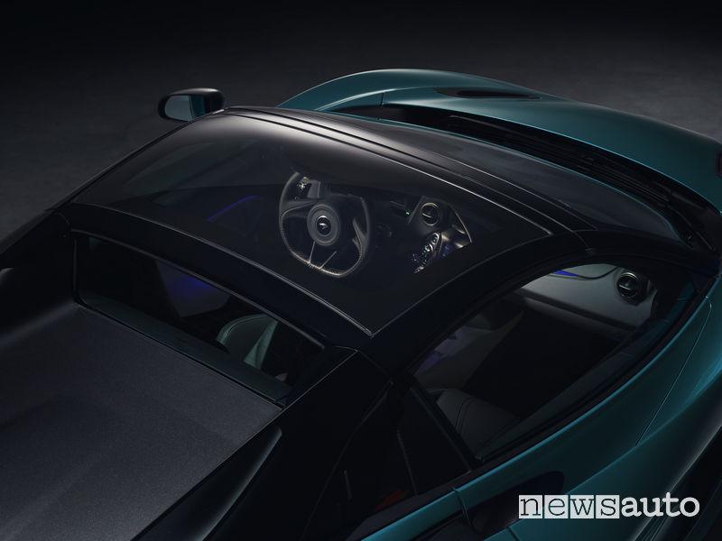 McLaren_720S Spider, vetro elettrocromatico