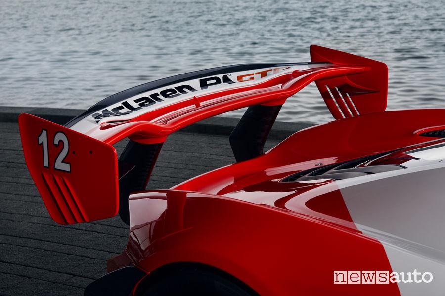 McLaren P1_GTR Senna, spoiler posteriore