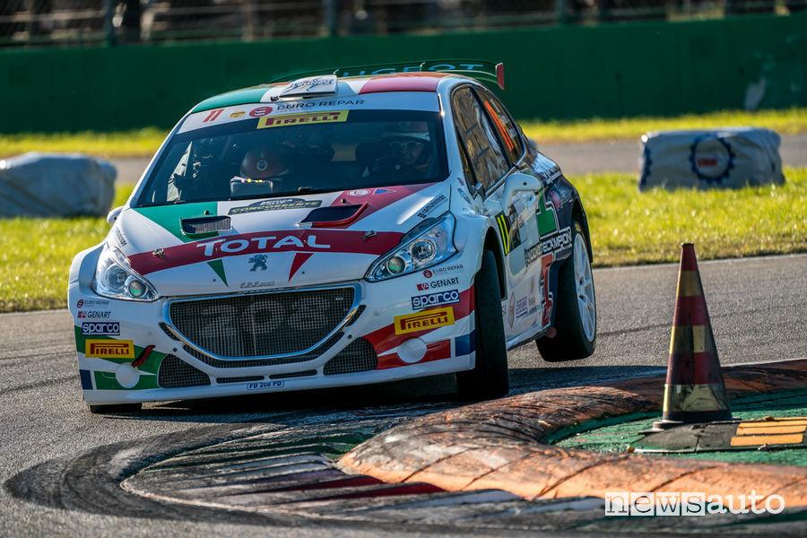 Peugeot e Andreucci-Andreussi al Monza Rally Show 2018