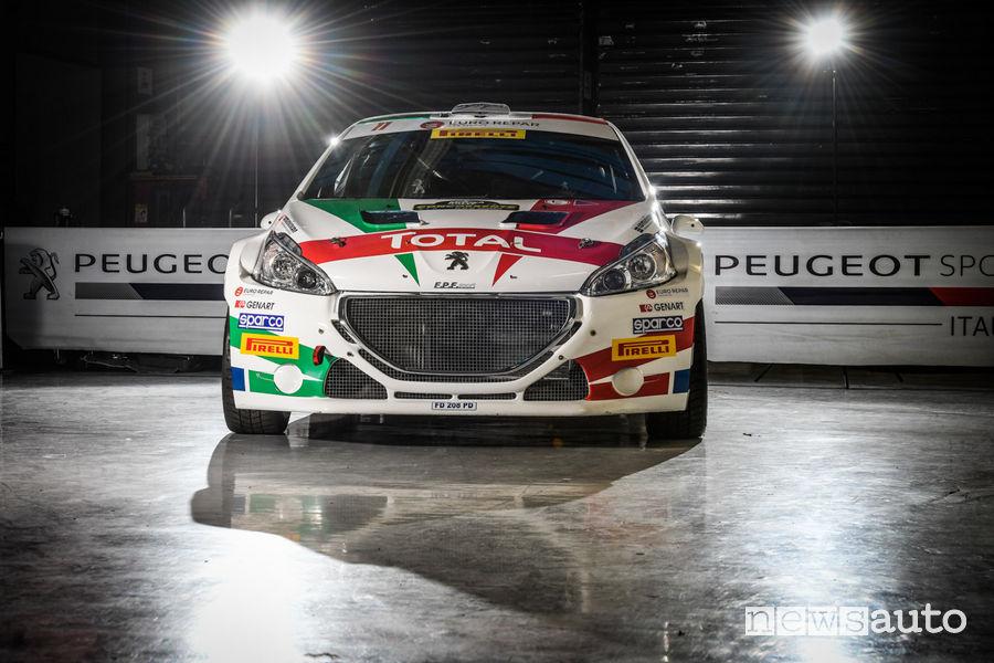 Peugeot 208 T16 livrea Monza Rally Show 2018