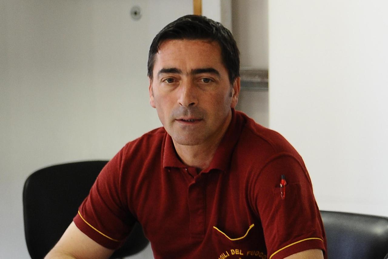 Stefano Colasanti il pompiere morto nell'esplosione sulla salaria