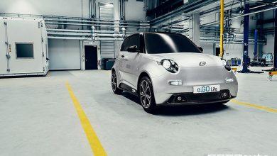 e.Go Life city car elettrica, vista di profilo