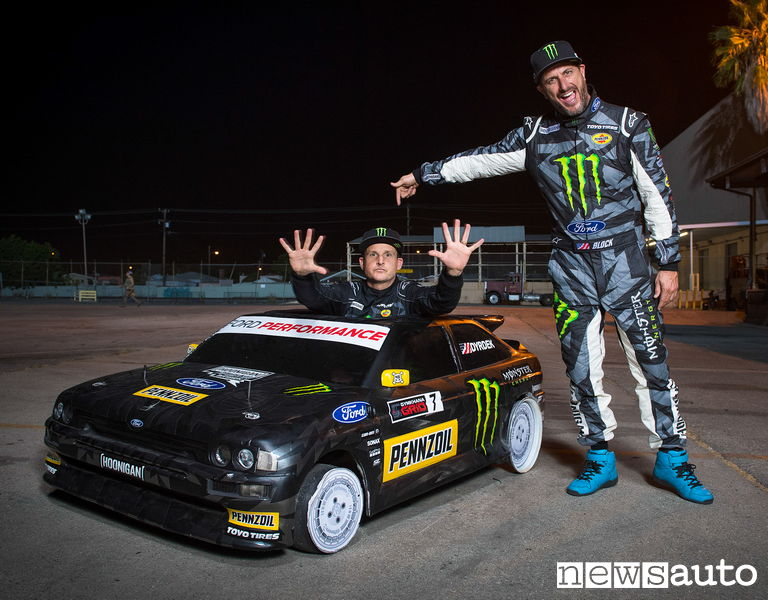 Ken Block Gymkhana files ford escort cosworth mini 4wd