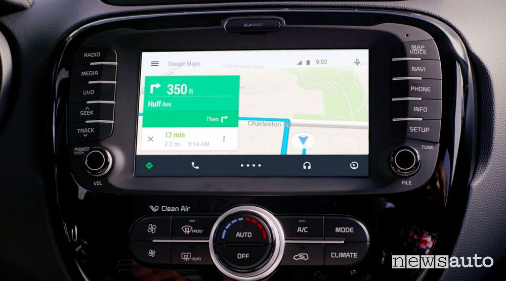 mappe android auto