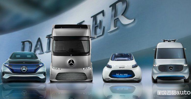 Mobilità del futuro cinque C Mercedes