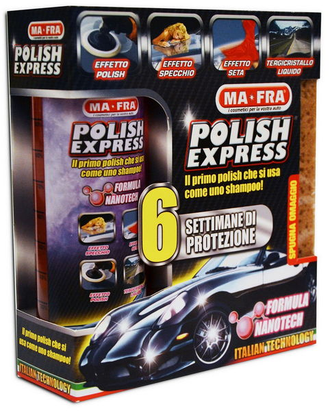 Regalo di Natale auto su Amazon KIT PULIZIA AUTO MA-FRA POLISH EXPRESS