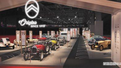 Centenario Citroen, esposizione al Retromobile 2019