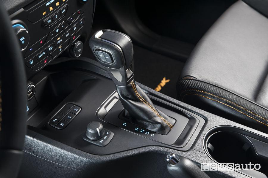 Ford Ranger Wildtrak 2019, leva cambio automatico