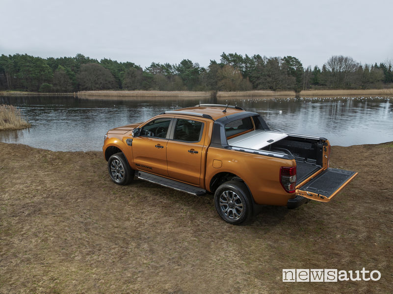 Ford Ranger Wildtrak 2019, vista posteriore
