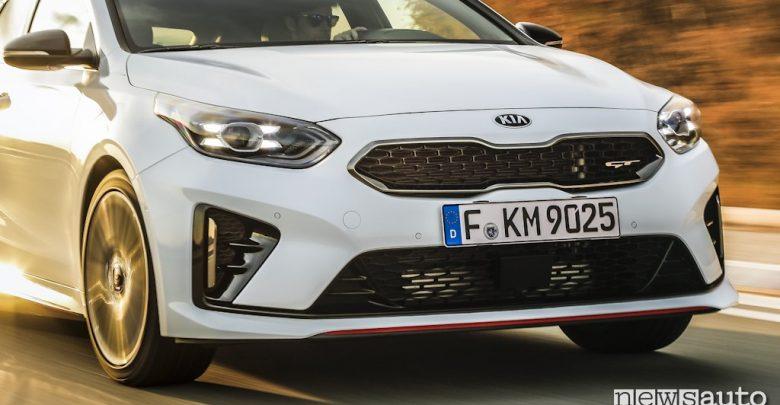 Kia Proceed GT 2019 anteriore