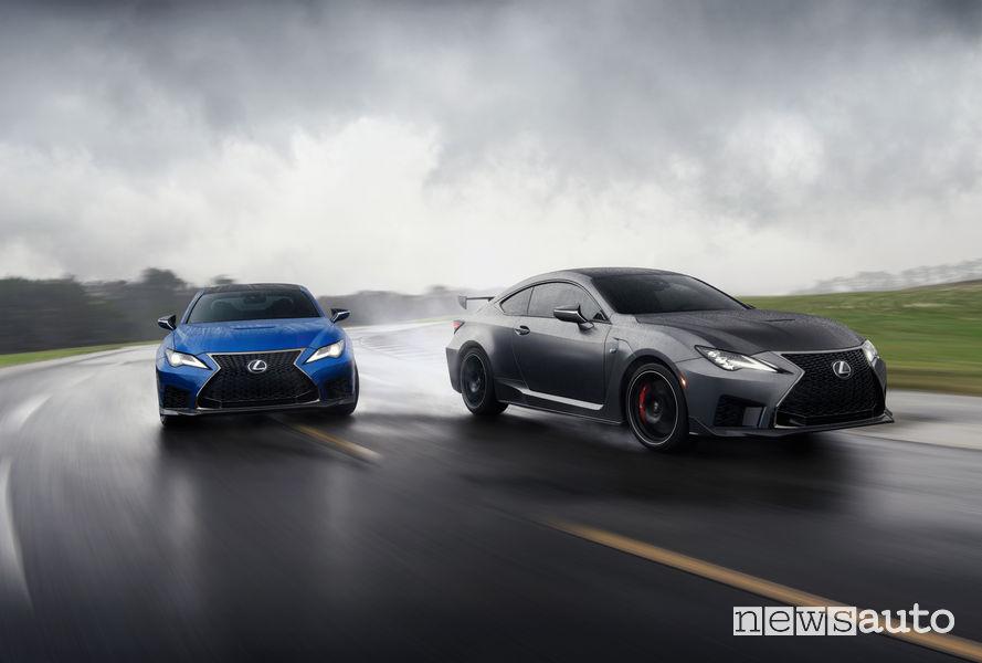 Lexus RC F 2020 e la versione Track Day