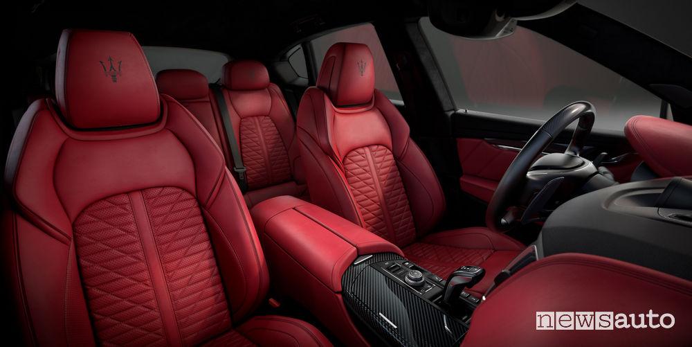 Maserati Levante Vulcano, abitacolo