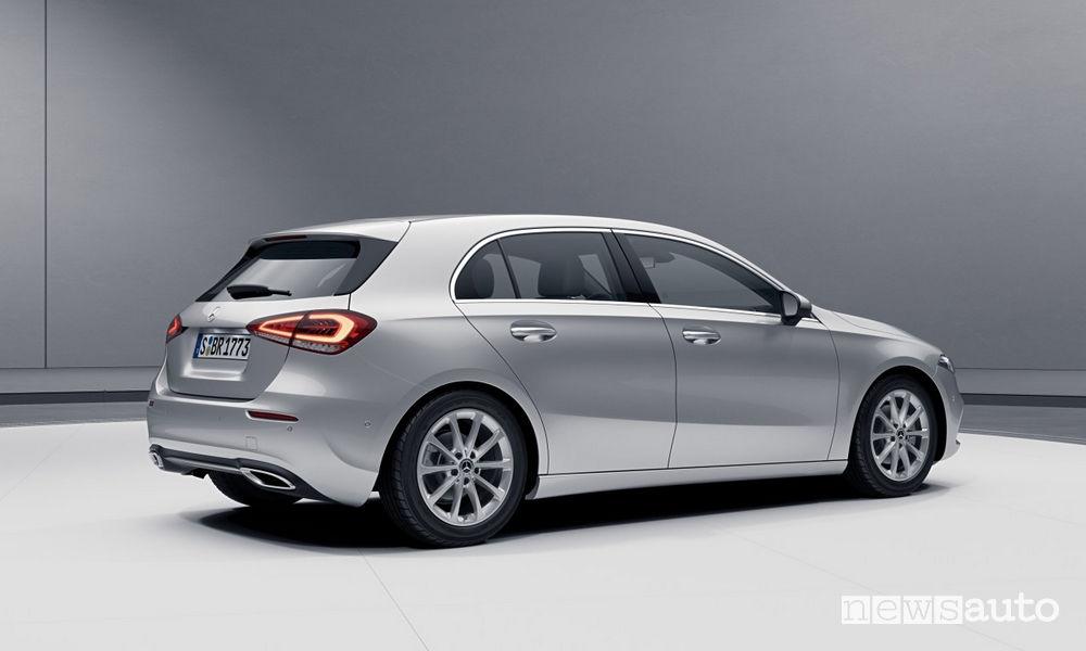 Mercedes-Benz Classe A Sport Extra, vista posteriore