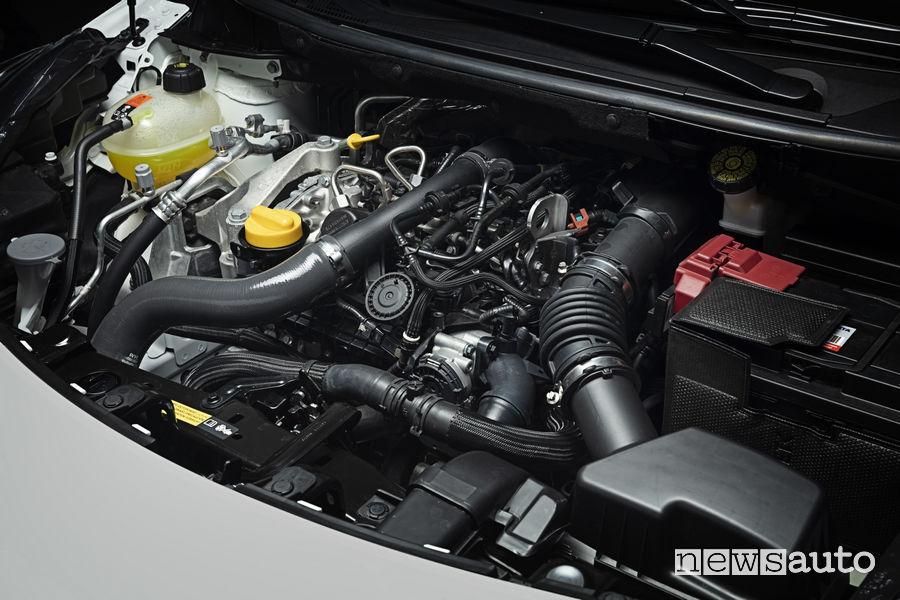 Nissan Micra 2019 N-Sport, vano motore benzina DIG-T 1.0 da 117 CV