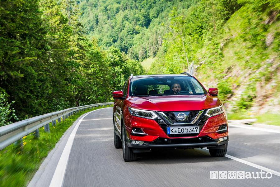 Nissan Qashqai SUV più rubato in Italia