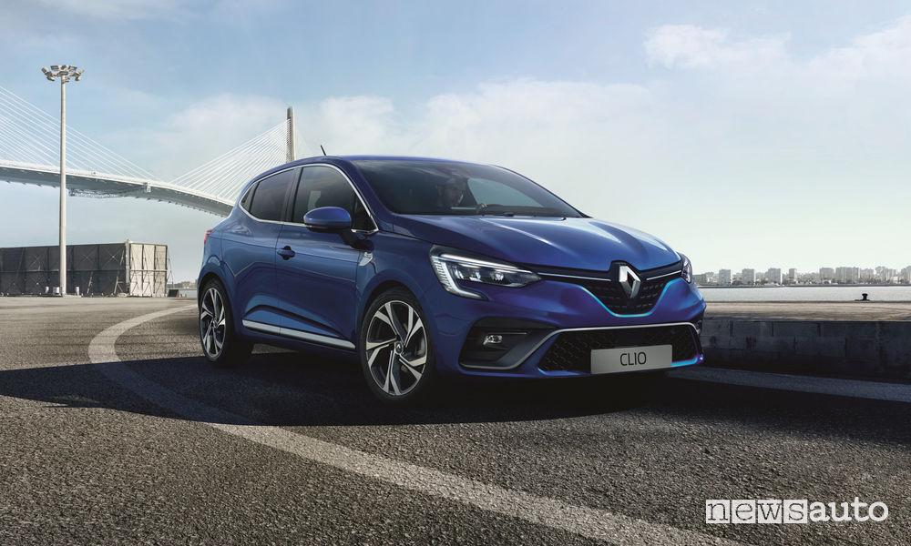 Nuova Renault CLIO R.S. Line, vista di profilo