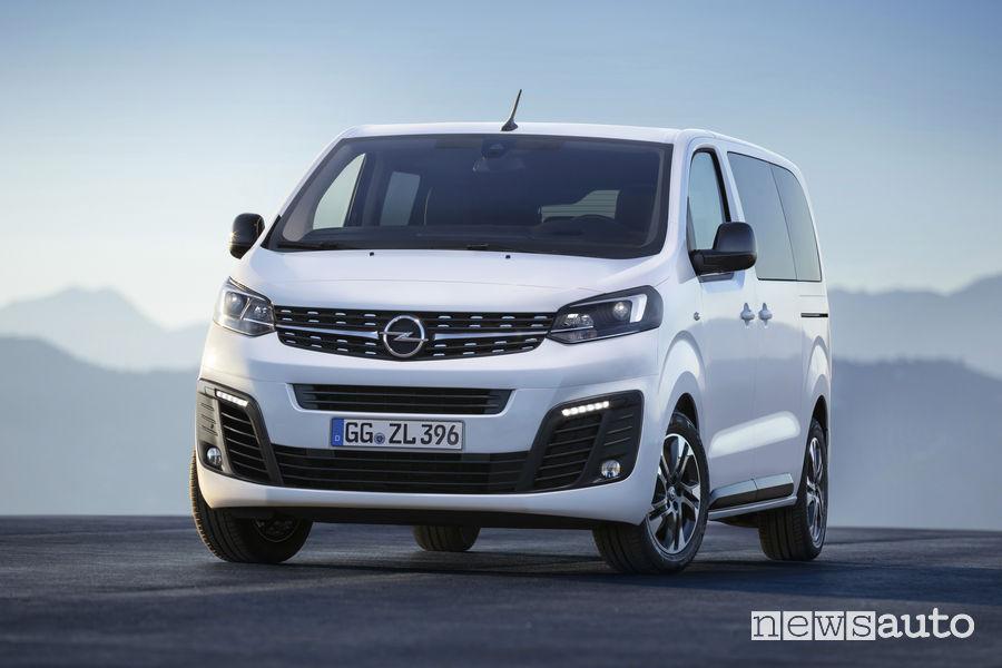 Opel Zafira Life 2019 al Salone di Francoforte 2019