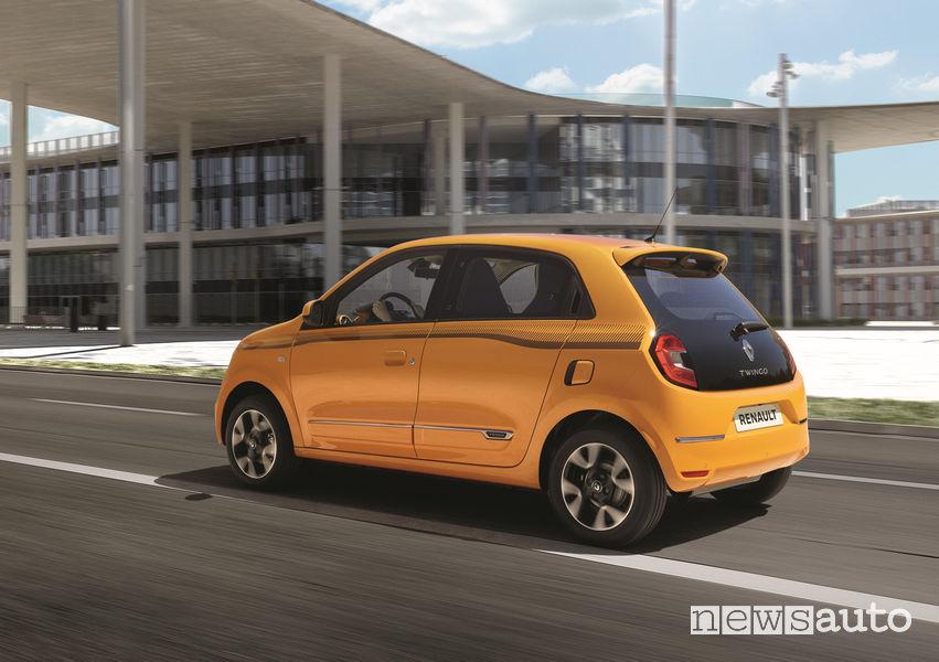 Nuova Renault Twingo, vista laterale