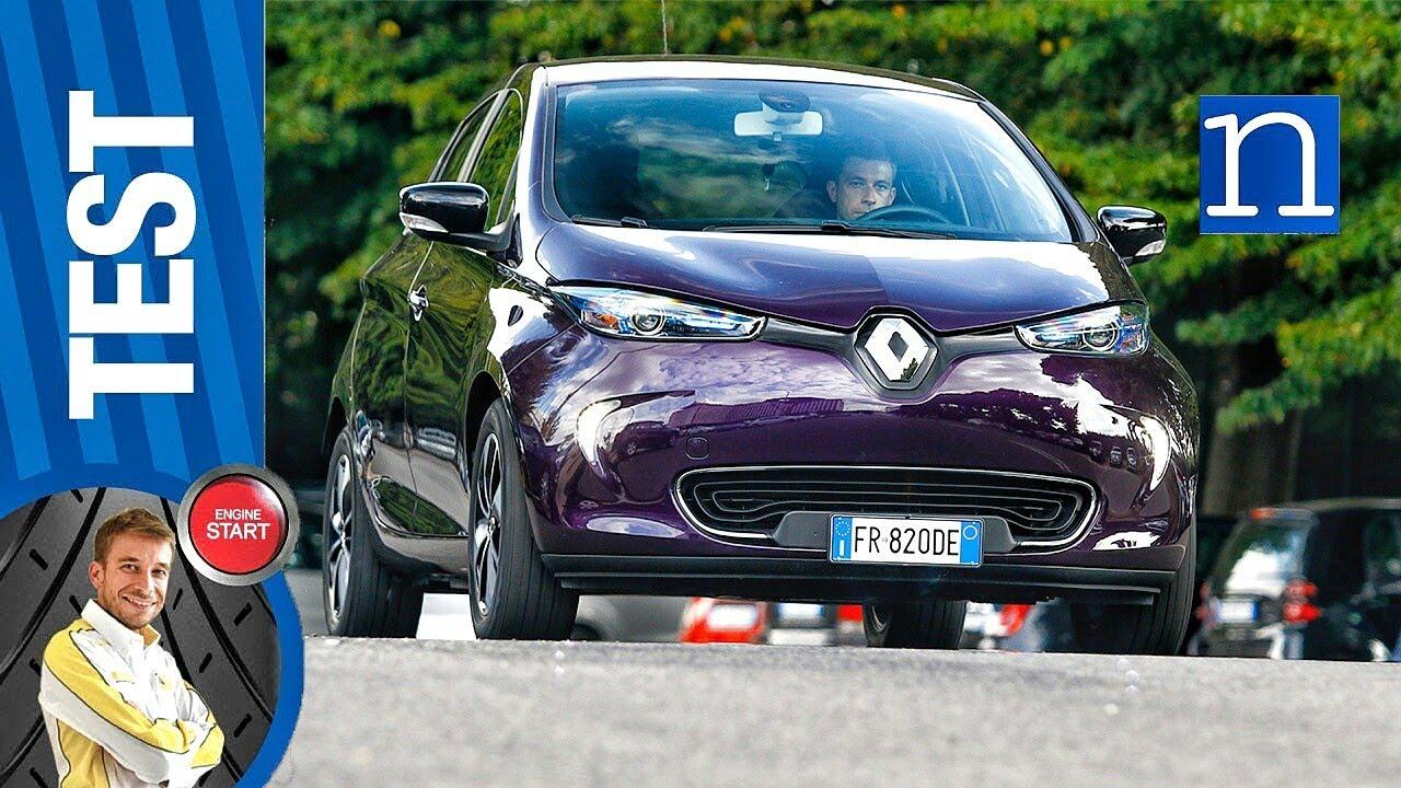 Renault Zoe test auto elettrica consumi reali