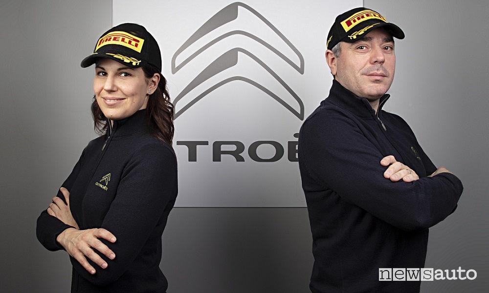 Luca Rossetti e Eleonora Mori Citroen CIR Rally 2019