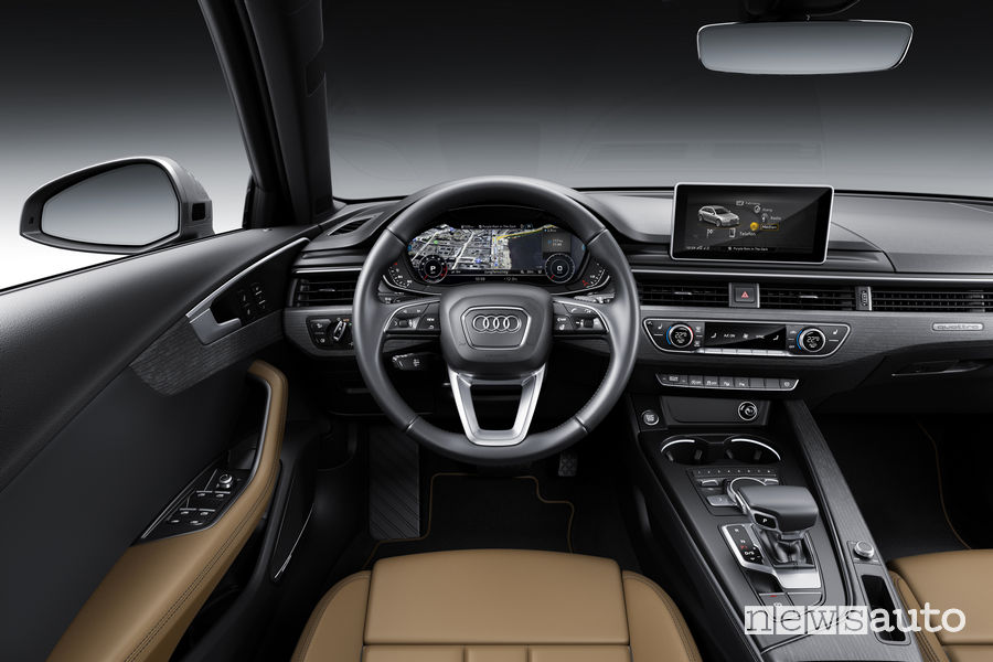 Audi A4 Avant, plancia strumenti