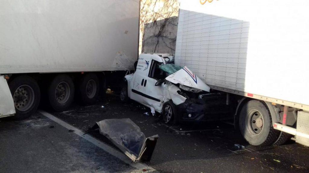 Incidente mortale sull'A18 Catania-Messina (Ansa)