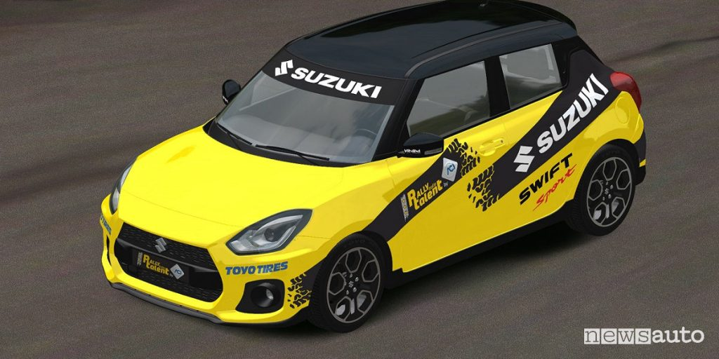 Suzuki Swift Sport auto ufficiale Rally Italia Talent 2019