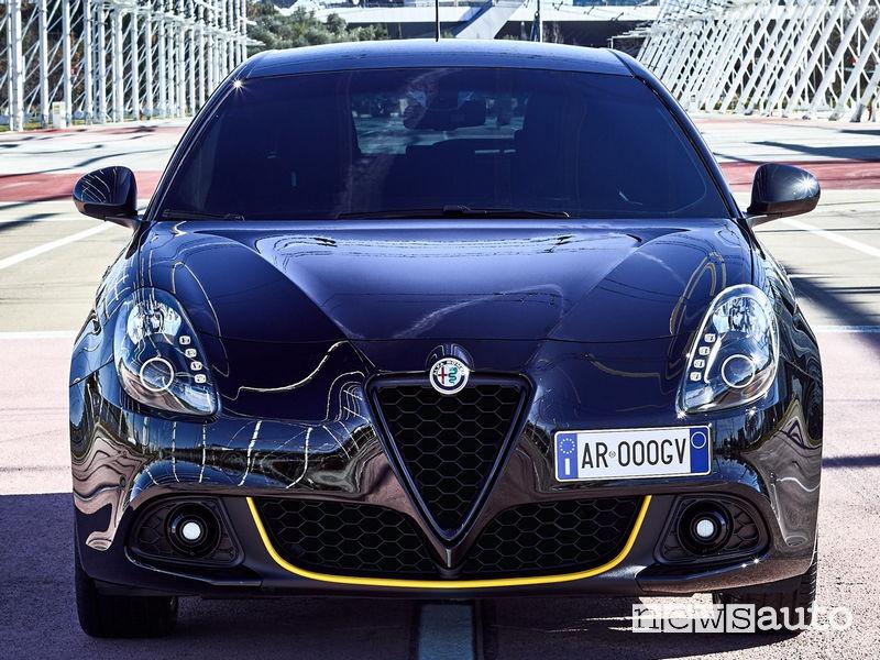 Alfa Romeo Giulietta Veloce, frontale