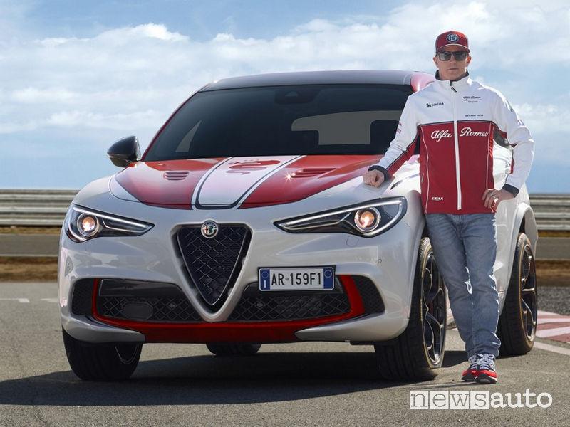Alfa Romeo Stelvio Quadrifoglio Kimi Raikkonen
