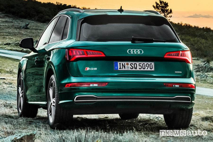 Audi SQ5 TDI, posteriore