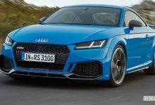 Nuova Audi TT RS 2019