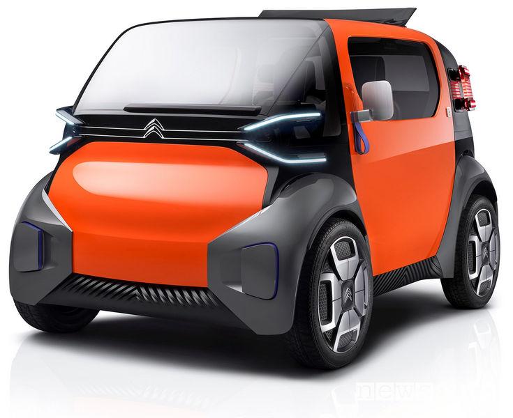 Citroen Ami One Concept, vista di profilo